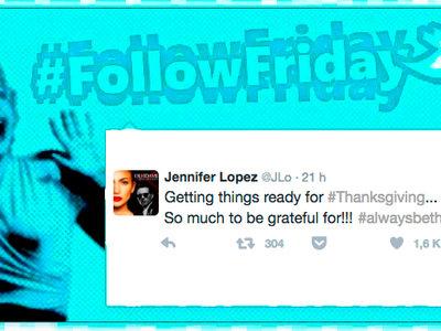 #FollowFriday de Poprosa: ¡feliz Acción de Gracias!