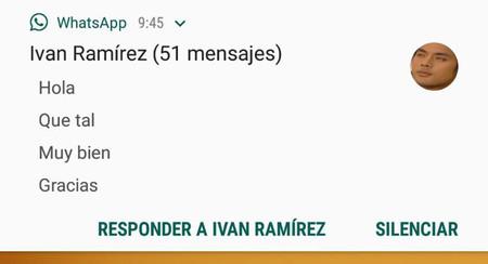 WhatsApp Beta te deja silenciar a los pesados directamente desde la notificación