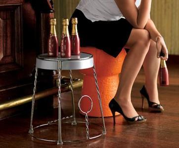 Decora con champán