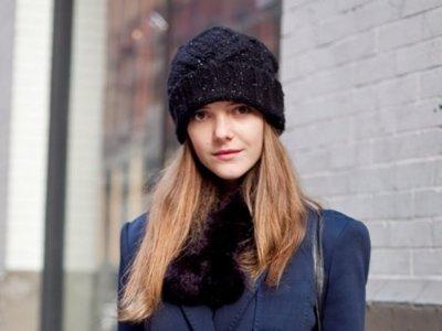 Moda en la calle: los gorros contra el frío