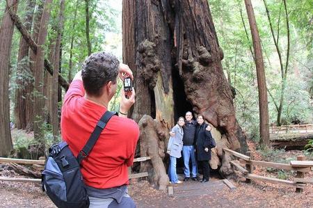 Fotografiando turistas