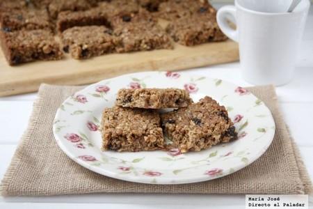 Receta de flapjacks o barritas de avena, el snack británico más delicioso