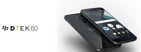 BlackBerry DTEK60, así es el nuevo smartphone canadiense corriendo con Android