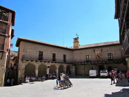 Plaza Mayor Albarracín