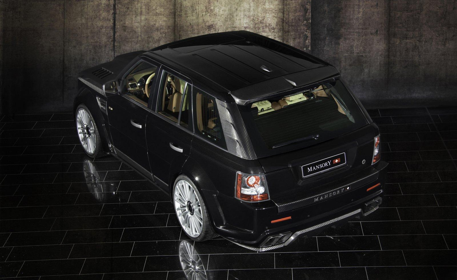 Foto de Range Rover Sport por Mansory (8/16)