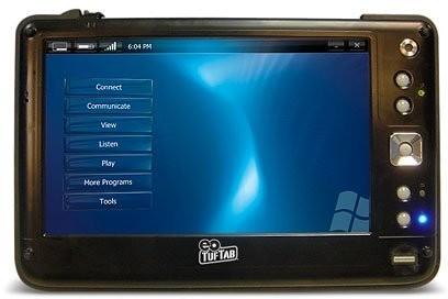 Eo TufTab v7112XT, UMPC con Linux