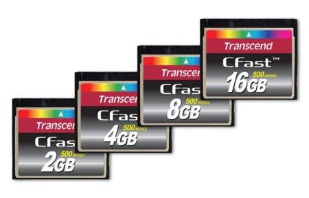 Nuevas tarjetas Compactflash de Transcend con interfaz SATA de alta velocidad