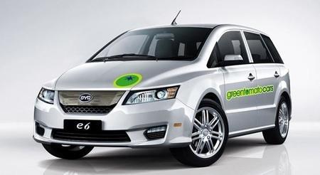 El lanzamiento de la flota de taxis eléctricos BYD E6 en Londres se retrasa