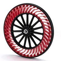 ¿Y si las ruedas de las motos no tuvieran aire? Así es la propuesta de futuro de Bridgestone