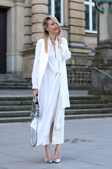 Pantalones Blancos Entretiempo