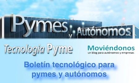 Boletín tecnológico para pymes y autónomos X