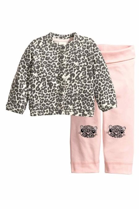 Print Leopardo Conjunto