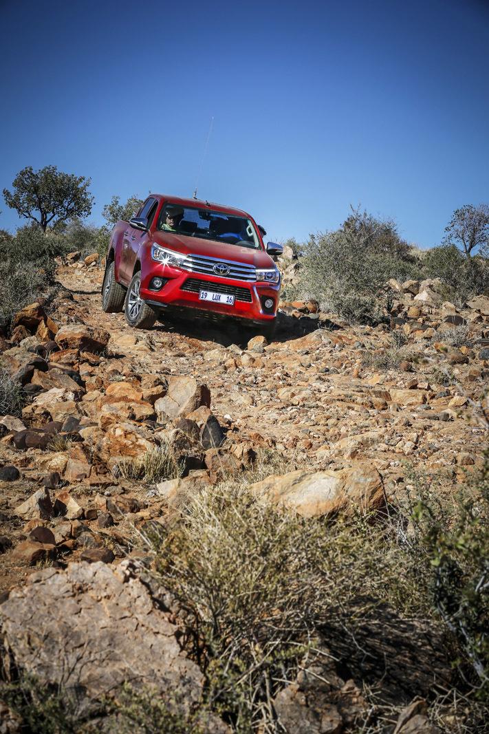 Foto de Toyota Hilux 2016 Namibia (44/74)