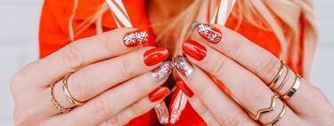 11 uñas navideñas muy elaboradas y delicadas para las que tienen cita con la manicurista justo antes de Navidad