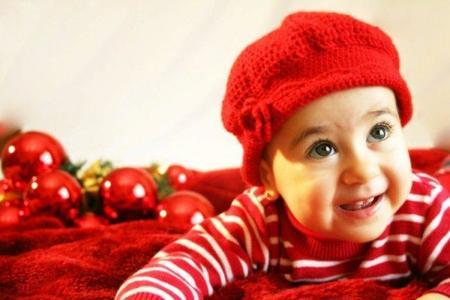 La foto de tu bebé: la Navidad de Clara