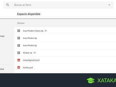 Cómo liberar espacio en Google Drive borrando los archivos que más ocupan