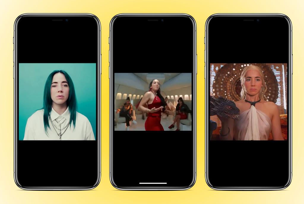 Reface es la nueva app de moda para crear deepfakes con videoclips y GIFs populares para iOS y Android: así funciona