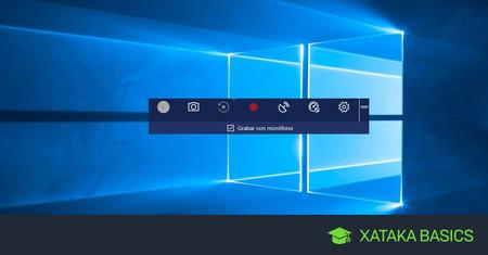 Cómo grabar la pantalla en Windows 10, sin programas