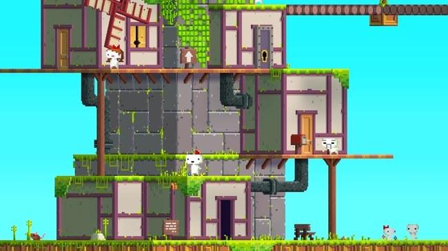 Fez, genial juego de plataformas y puzzles en 2D y 3D