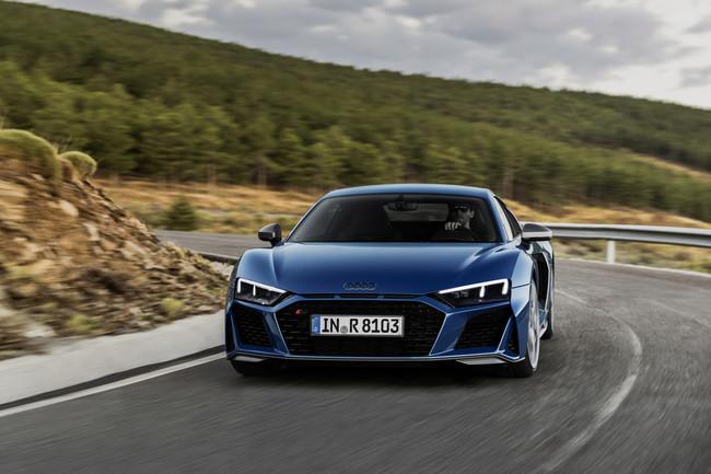 El Audi más potente.... es más potente que antes. Así las especificaciones del R8 que se venderá a partir de enero