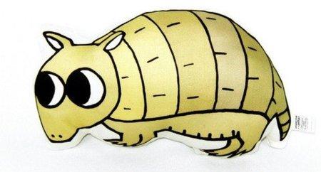 Almohadas de animales poco comunes