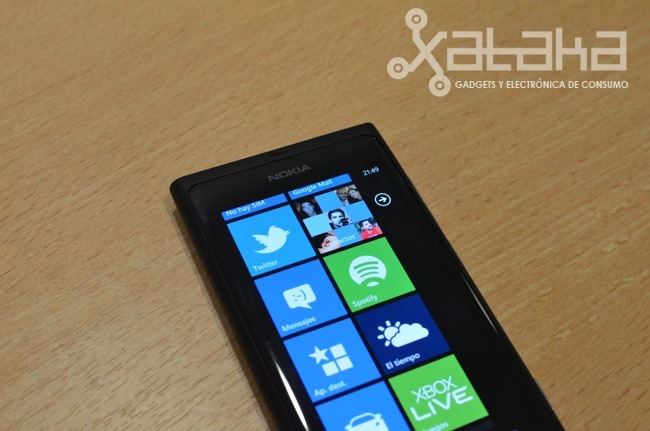 Nokia Lumia 800 prueba hardware