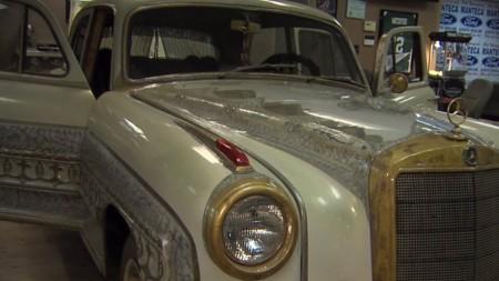 Este es el Mercedes Benz 1959 de Muhammad Ali valuado en 1.5 millones de dólares