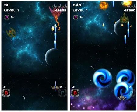 Space Shooter X, un árcade de aviones para Windows Phone