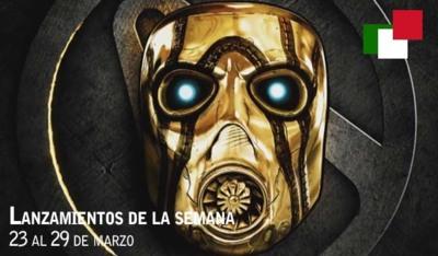 Lanzamientos de la semana en México del 23 al 29 de marzo