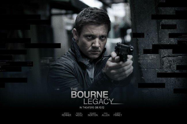 Un póster de El Legado de Bourne