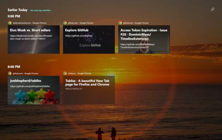 Integra Chrome y Firefox con el Timeline de Windows 10 gracias a esta maravillosa extensión