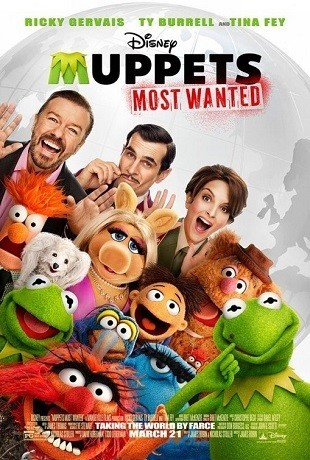 El tour de los Muppets (most wanted) de Disney presenta la Secuela