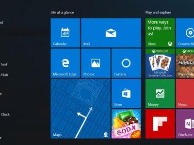 Así es el nuevo menú de inicio que implementará el Anniversary Update de Windows 10