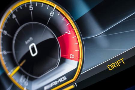 MercedesAMG E 63S drift mode
