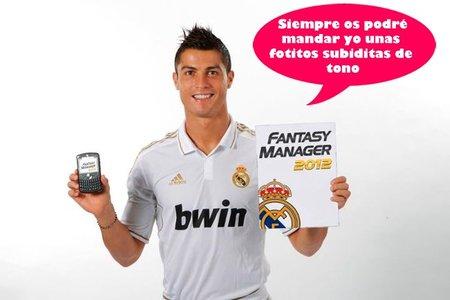 Tienes más peligro que Cristiano Ronaldo con una tecla de reenviar