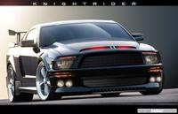 El Knight Industries Three Thousand ya es oficial y es un Shelby Mustang GT500KR