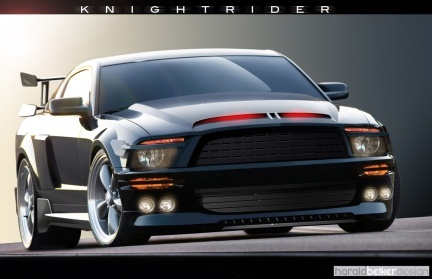 El Knight Industries Three Thousand ya es oficial y es un Shelby Mustang GT500KR