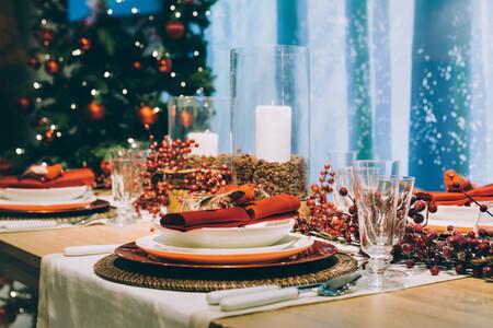12 elementos a tener en cuenta para mejorar la decoración de la mesa de Navidad