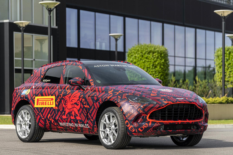 Foto de Aston Martin DBX, preproducción (1/23)