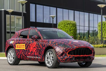 Aston Martin DBX, preproducción