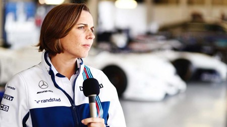 Claire Williams Repostajes F1