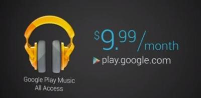 Google Play Music All Access, el servicio de música por streaming de Google