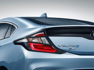 Buick sólo venderá su versión del Volt, llamada Velite 5, en el mercado chino