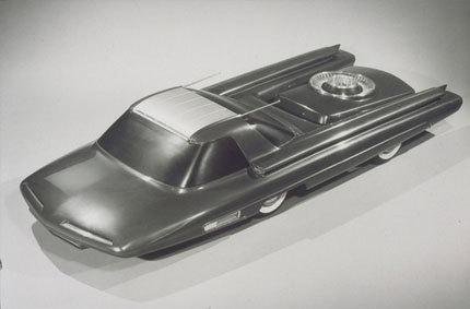 Ford Nucleon Concept, la fisión nuclear aplicada al mundo del automóvil