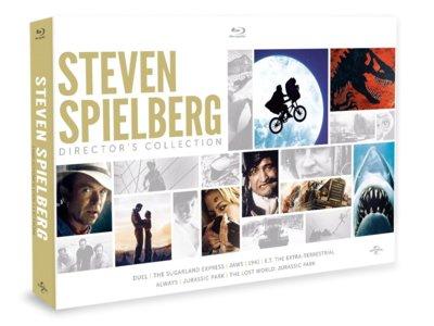 Steven Spielberg Director's Collection, en Blu-ray, por 21 euros