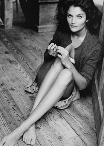 Helena Christensen, fotógrafa, diseñadora y por supuesto, top model