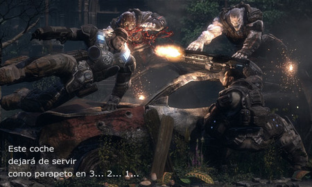 'Gears of War 2' y las paredes que no son paredes