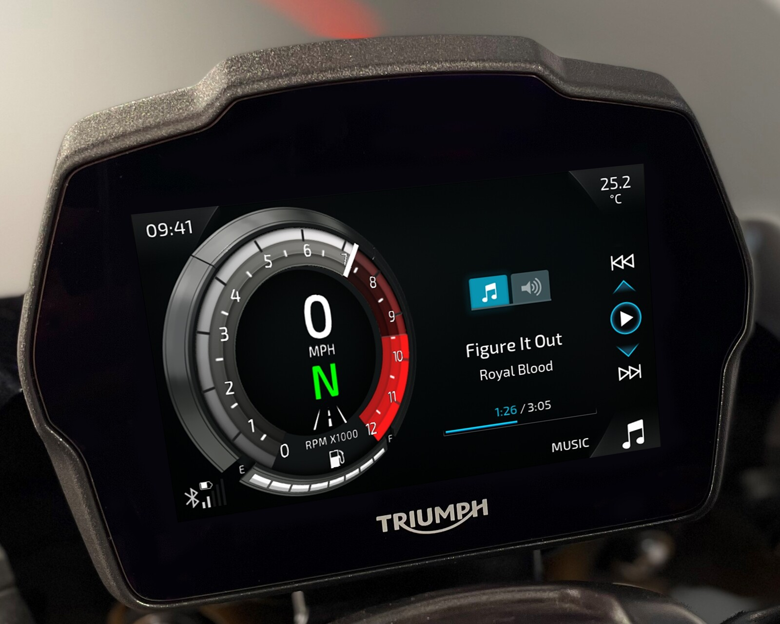 Foto de Triumph Speed Triple 1200 RS 2021 (68/71)