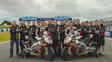 Aprilia Racing SBK 2015