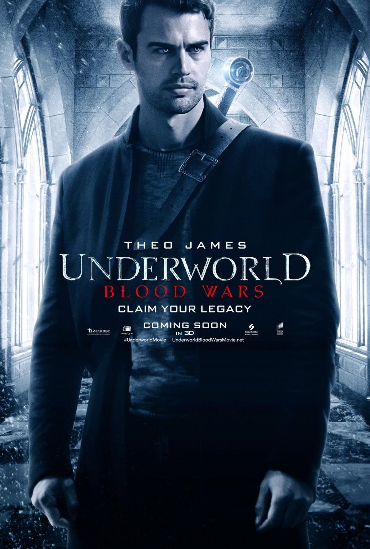 Foto de 'Underworld: Guerras de sangre', carteles de los protagonistas (4/5)